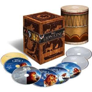 The Lion King Trilogy (Includes The Lion King: Diamond Edition Blu ray