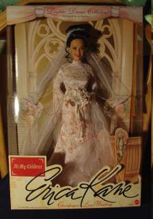 Children Barbie Erica Kane Daytime Drama Collection SIGNED SUSAN LUCCI