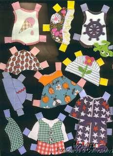 Bitty & Bedsie Beans Mattel Paper Dolls & Clothes