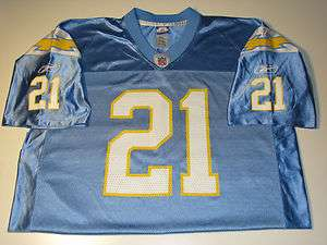 San Diego Chargers Ladanian Tomlinson #21 Jersey sz L, Large