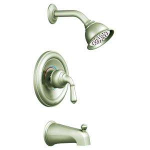 MOEN Monticello Tub and Shower Faucet Trim Kit in Brushed Nickel