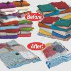 Space Bag Set Of 6 Combo Vacuum Seal Clothes Storage Bags