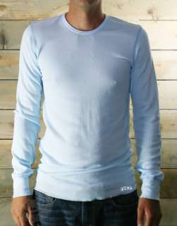T407 American Apparel Baby THERMAL Long Sleeve T Shirt stylish john