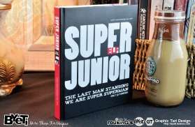 SJ SUJU Super Junior   Notebook / Diary ELF Deluxe Edition Fanmade