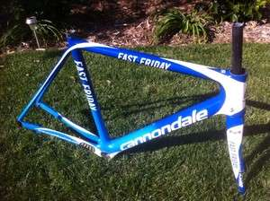 CANNONDALE SUPER SIX HI MOD FULL CARBON FRAME AND FORK SIZE 56