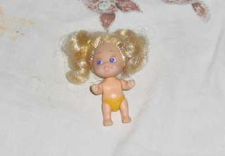Quints2.5 inches Baby girl Doll, Yellow diaper #3, switch to move head