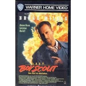Last Boy Scout Bruce Willis, Tony Scott, Joel Silver  VHS