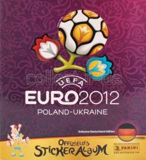Panini UEFA Euro 2012 EM   Stickeralbum   Album   Deutsch   JETZT