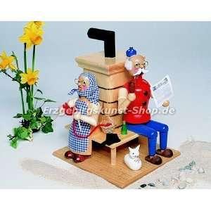 Räuchermann   Opa und Oma am Ofen: .de: Küche & Haushalt
