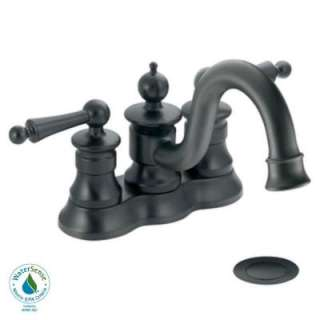 Two Handle High Arc Lavatory Faucet in Wrought Iron DISCONTINUED