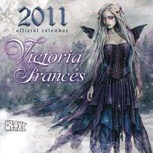Victoria Frances 2011 Calendar Favole Vampire Goth Male