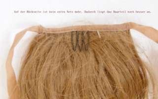 Haarteil Zopf Haarverläangerung glatt Band 70cm extra lang Neu