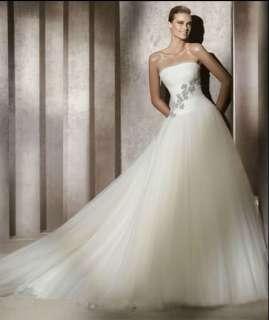 2012 New White/Ivory Bridal Gown Wedding dress Custom size