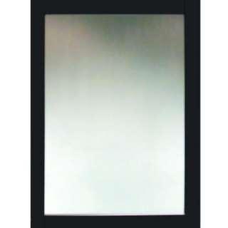 DesignsCambridge 24 in. x 18 in. Wood Framed Mirror in Dark Espresso