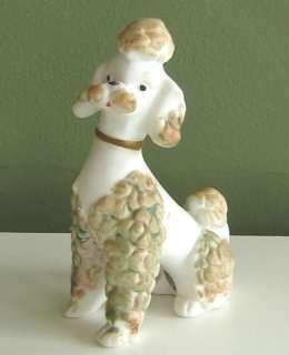 Vtg Ceramic Poodle Made In Japan