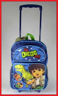 16 DIEGO Rolling Backpack Roller/Dora the Explorer