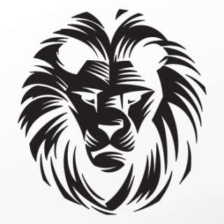 Vinyl Decal Sticker Africa Lion Tiger Wild Cat ZZ935