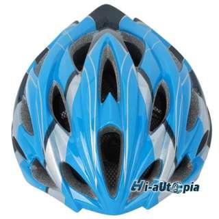 New Cool EPS PVC 24 Holes Sports Bike Bicycle Cycling Blue Helmet