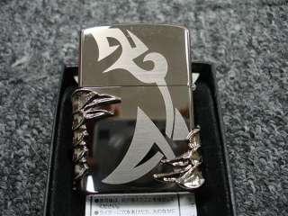 PANZER TRIBAL DRAGON BLACK ICE 4 SIDED DESIGN ZIPPO LIMITED # 3510