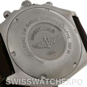 Breitling Windrider Chronomat Steel and 18K Yellow Gold Watch # D13050