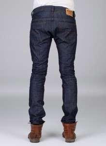 DIESEL Thavar 0880G Mens Slim/Skinny Leg Jeans Dark Blue BNWT RRP £