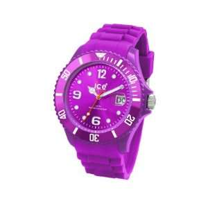 Ice Watch Unisex Armbanduhr Medium Big Sili Forever violett SI.PE.U.S