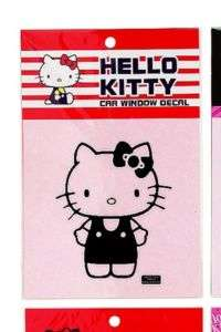 NEW Sanrio Hello Kitty Car Decal Figurine in Black Cute