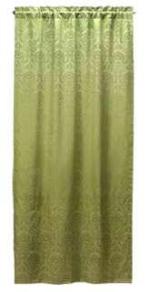 SAGE GREEN DAMASK WINDOW PANEL DRAPE**43 x 84**NIB