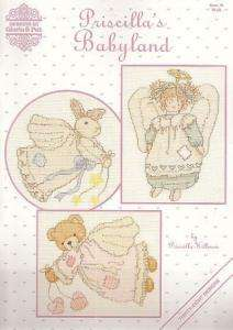 PRECIOUS MOMENTS 3 Cross Stitch PATTERN Charts Booklets