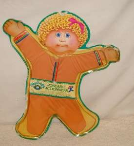 CABBAGE PATCH KIDS~DOLL~POSEABLE ACTIONWEAR/OUTFIT~NIP