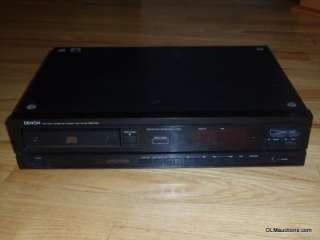 DENON DCD 610 Single CD Player DCD 610