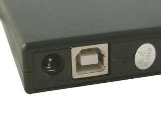 External Slim DVD Burner Drive DVD±RW USB 2.0 Portable