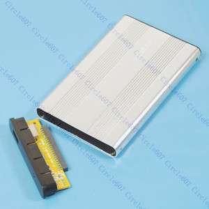 Silver USB 2.0 Case Enclosure 2.5 Laptop IDE Hard Drive