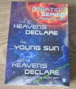 Creation Series 3 DVD Boxed Set New Heavens Declare