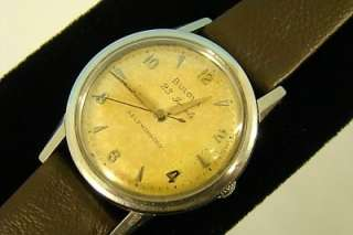 c1956 BULOVA 23j Jewel MENS Wrist WATCH Self Winding RUNNER