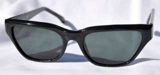 . REED Classic Vintage 50s 60s Mod Pin Up Sunglasses  Black