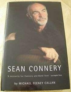 Sean Connery Biography JAMES BOND 007 Book Goldfinger Thunderball IAN