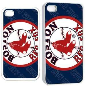 boston redsox iPhone Hard Case 4s White Cell Phones