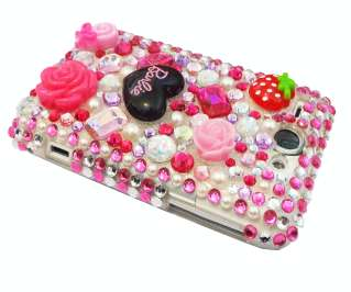 HTC WILDFIRE BARBIE DIAMOND CRYSTAL CASE COVER BLING UK