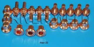 Hypertherm MAX 20 POWER MAX350 380 Plasma Cutter 20 PCS