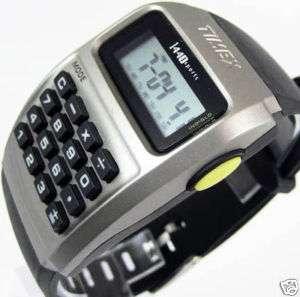 Timex calculator mens 1440 sports watch T5B961 indiglo
