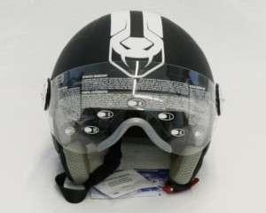 Casco moto Jebs Viper black demi jet L
