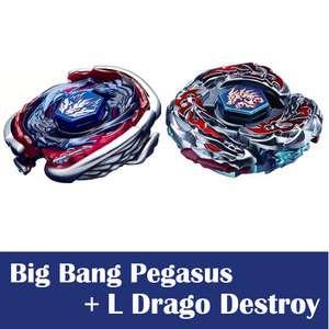 Korea 4d big bang pegasus beyblade metal masters launcher grip stadium - Toupie beyblade big bang pegasus ...