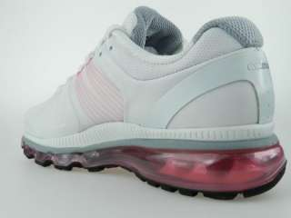 NIKE AIR MAX 2010+ NEW Womens Pink White iPod Ready Running Shoes Size