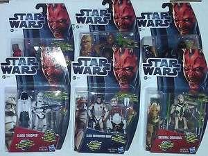 Hasbro Star Wars Figur   General Grievous  Darth Vader   Clone Trooper