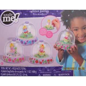 Totally Me! Create GLITTER FAIRIES SNOW DOMES Kit w 3 Snow