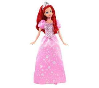 MATTEL Bambola Disney Princess Ariel paillettes
