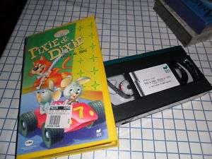 Vhs PIXIE & DIXIE Cartone CACCIA AL TOPO Videocassetta
