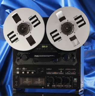 Teac X 2000R Hi Fi Reel to Reel Tape Deck Player X2000R BL dbx 10.5