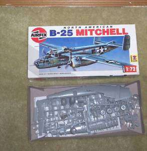 Airfix B 25 Mitchell Model kit 1:72